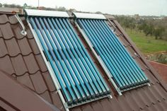 Helpline for solar heating, Solar heating, Solar panels
