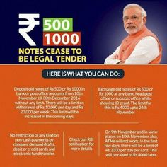 Welcome the move by the #Modi #Government to ban the Rs 500 and Rs 1000 notes with immediate effect. It is a drastic but #Positive #Step that will help stamp out the menace of #BlackMoney. if you have Rs 500 and Rs 1,000 notes lying with you, there is no reason to panic if you can explain the source of the cash. After all markets always change, and as soon as there's downturn, cleanliness becomes a major value. #RadheDevelopers