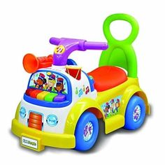 Kids Ride On Toys Little People Music Parade Plays Fun Instrument Sounds Gift