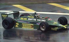 Lotus 79 Martini driven by Carlos Reuteman
