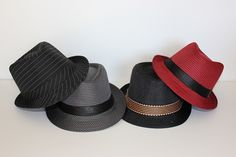 Boys Gentlemen Fedoras. $13.00 each. Fedoras, Gentleman, Baby Shoes, Boutique, Boys, Clothes, Fashion, Baby Boys, Outfits