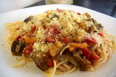 Vegan Recipes, Spaghetti, Pasta, Chicken, Meat, Ethnic Recipes, Food, Cakes, Essen