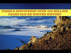 260 Million Year Old Fossils Discovered in Antarctica Rewrites History Again. Erik Gulbranson, paleoecologist and assistant professor at UWM traveled to Antarctica from Late November thru January and brought back fossil fragments of 13 trees in the McIntyre Promontorys Frozen Slopes in the...