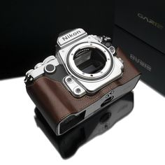 New Gariz half leather case for Nikon Df camera