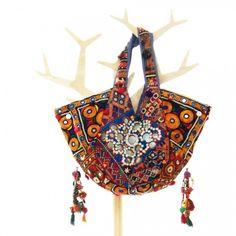 One of a Kind Bohemian Hippy Boho Tribal Ethnic Tote Handmade 00024   bohemiantouch - Bags & Purses on ArtFire