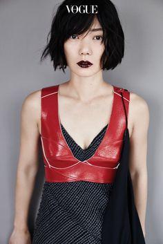 Bae Doona // Vogue Korea