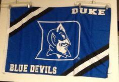 """Duke Blue Devils Banner Basketball College Applique 28"""" x 41""""  #Badensports #Duke"""