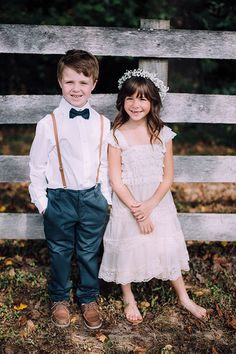 Flower Girl and Ring Bearer Attire | Brides.com