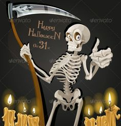 """Death is Skeleton with Scythe   #GraphicRiver         Death is skeleton with scythe   """"Gothic Birthday Cake"""" font – This Font Software is licensed under the SIL Open Font License, Version 1.1  .dafont /gothic-birthday-cake.font     Created: 23August13 GraphicsFilesIncluded: JPGImage #VectorEPS Layered: No MinimumAdobeCSVersion: CS Tags: abstract #adventure #anatomy #black #body #bone #cartoon #cemetery #clip-art #cruel #cute #danger #dark #dead #death #decoration #depression #design #evil…"""