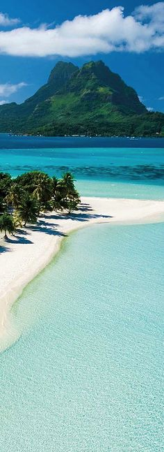 Dreaming of warm sand and turquoise water in Bora Bora. - Being a Tahiti Sweetie. - My dream vacation. Tahiti, Places To Travel, Places To See, Travel Destinations, Travel Tips, Places Around The World, Around The Worlds, Dream Vacations, Romantic Vacations