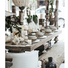 Chic Island table - styling by The Style Salon Group