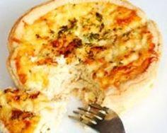 Quiche aux oignons, carottes et viande hachée (facile, rapide) - Une recette CuisineAZ