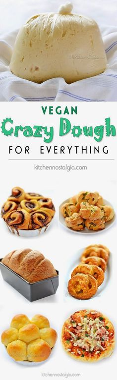 Veggie and dip: Vegan Crazy Dough