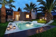 Paradise Island Villas Anissaras Offering an outdoor pool and water sports facilities, Paradise Island Villas is set in the Anissaras district in Hersonissos. The hotel has a barbecue and children's playground, and guests can enjoy a meal at the restaurant.