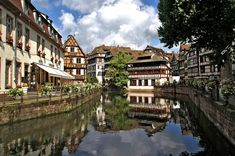 At almost years old, Strasbourg (the not-so-secret lovechild of Germany and France) has a much richer history than most imagine. Best Vacation Destinations, Best Vacations, Kaiserslautern, Petite France, Europe Bucket List, Excursion, Cities In Europe, Most Beautiful Cities, Black Forest