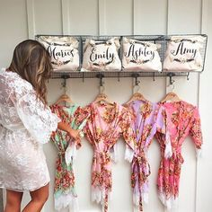 || Pretty and personal bridesmaids gifts ||  www.daintyhooligan.com