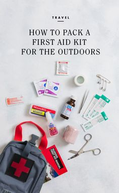 How to Pack a First Aid Kit for the Outdoors / eBay #spon