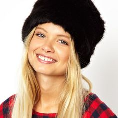 81191cfe4cc Winter Warm Hat Snow Cap Imitated Leather Cap Leifeng Cap Fur Cap Russian  Cap Rabbit Fur