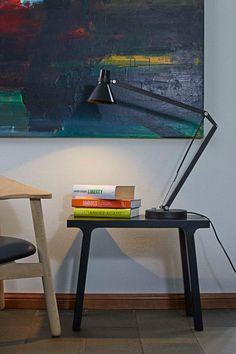 Tischlampe SAFIR schwarz kaufen | Lampenshop Lumizil