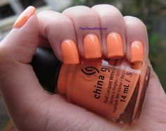 China Glaze Sun Of A Peach from Neons On The Shore
