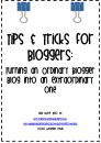 Tips & Tricks for Bloggers: A 33 Page How-To Guide product from Tales-From-a-Teach on TeachersNotebook.com