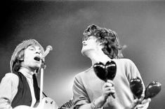 Brian Jones & Mick Jagger