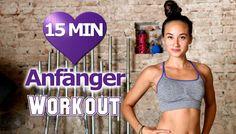 Workout für Anfänger Zuhause zum Abnehmen - 15 Min Zirkeltraining ohne G...