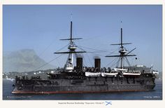 Imperial Russian Battleship Imperator Nikolai I.