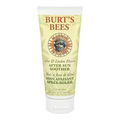 Burts Bees After Sun Soother Aloe And Linden Flower 6Ounces Tubes Pack of 2 * Click image to review more details.