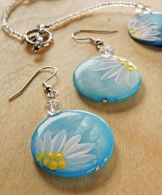 Donna Dewberry Glass Painting | ... Stroke Daisy Jewelry designed by Donna Dewberry - Project Instructions