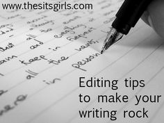Editing is an integral part of the writing process, and one that is often skipped in blogging. Here are 6 helpful tips when editing your work.