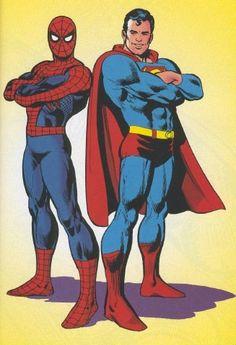 Spiderman & Superman