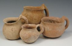 Biblical-Period Pottery Artifacts from the Holy Land  #Ancient_pottery  #ceramics
