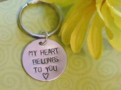 Love Keychain :) Just Because