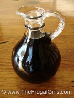 Easy Homemade Maple Syrup ~ it tastes light, delicious, and will save you a bundle at the grocery store!