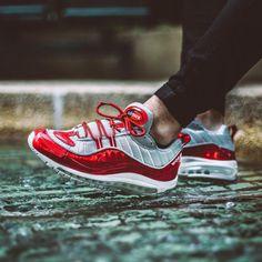 1e4f99b09b03 Supreme x Nike Air Max 98 - Varsity Red - 2016 (by anthonysuz) Nike