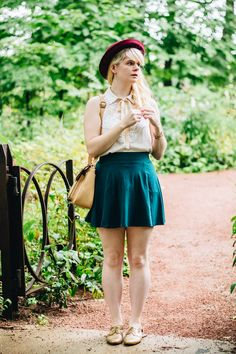 <3 this look from the ModCloth Style Gallery! Cutest community ever. #indie…
