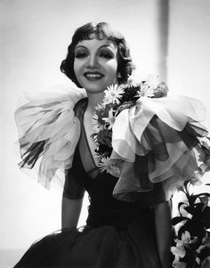 Claudette Colbert, superb in It Happened One Night, Palm Beach Story, Midnight, & The Egg & I - all wonderful, charming & funny films.