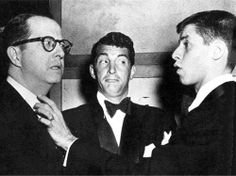 Phil Silvers, Dean Martin and Jerry Lewis. Silvers had his own tv series for a few years. A real quick-tempered & one-liner spitter...his role that is. MR