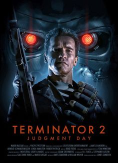 Terminator 2 Poster by Brian Taylor aka Candykiller Fiction Movies, Sci Fi Movies, Science Fiction, Fantasy Movies, Indie Movies, Cinema Tv, Films Cinema, Movie Poster Art, Film Posters