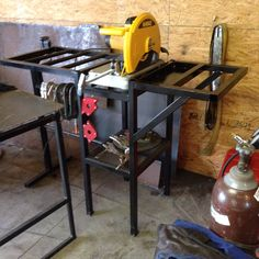Chopsaw stand