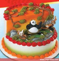 Kung Fu Panda Birthday Cakes Idea
