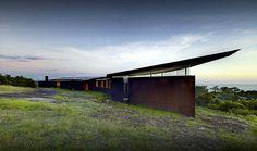 Southern House by Fergus Scott Architects Contemporary Cabin, Cabin Design, House Design, Interior Architecture, Australian Architecture, Residential Architecture, Contemporary Architecture, Interior Design, Coastal Style