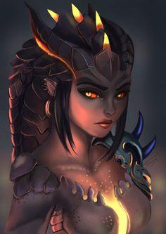 Overwatch Dragon Symmetra