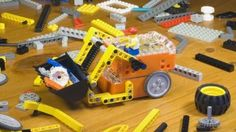 the Edison - The Edison is a palm-sized robot that can be supplemented and deconstructed using Lego bricks, and is intended as an inexpensive teaching tool for ...