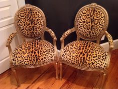 Beautiful French Chairs by ChairWhimsy on Etsy, $500.00