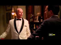 """Don Draper's Old Fashioned. Excerpt from Mad Men Season 3, Episode 3: """"My Old Kentucky Home""""."""