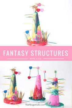 STEAM Fantasy Structures for Kids (Inspired by Iggy Peck Architect)