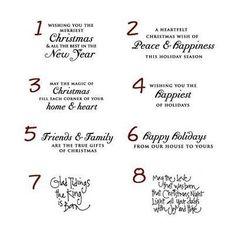 christmas message samples