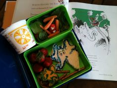 Dr. Seuss Cheerios bento lunch